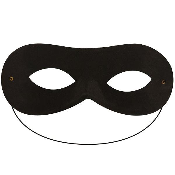 Domino Mask Black