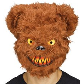 Killer Critter Brown Bear Mask