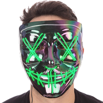 Anarchy Iridescence Mask (Light Up)