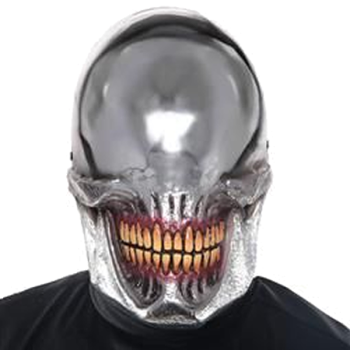 Mirrored Smile Mask