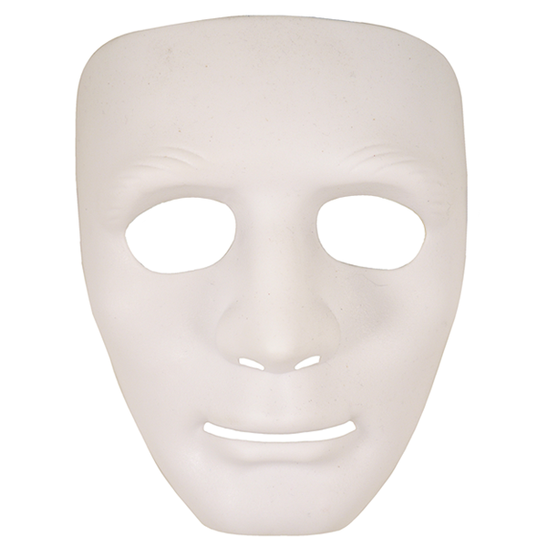 Robot Mask White