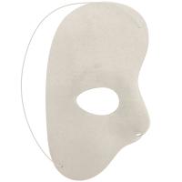 White Half face Mask