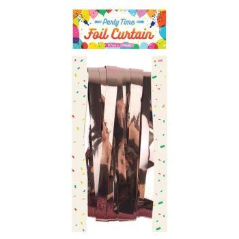 Foil Curtain - Rose Gold