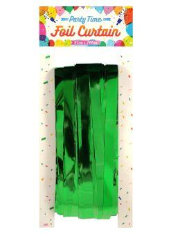 Foil Curtain - Green
