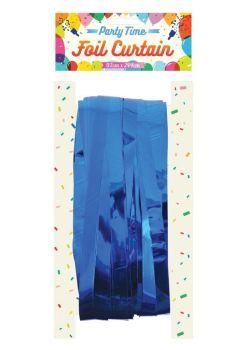 Foil Curtain - Blue