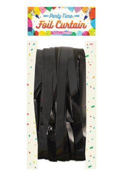 Foil Curtain - Black