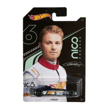 Hot Wheels Nico Rosberg Collection