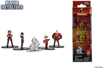 Metal Nanofigs 5 Pack - Incredibles 2