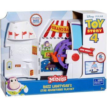 Toy Story 4 Mini's Buzz Lightyear's Star Adventurer Playset