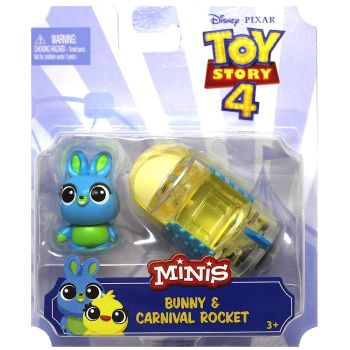 Toy Story 4 Mini's Bunny & Carnival Rocket