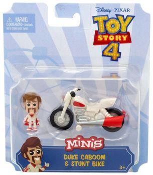 Toy Story 4 Mini's Duke Caboom & Stunt Bike