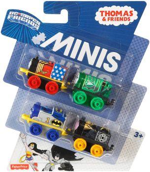 Thomas & Friends Mini's 4 Pack - DC Super Friends
