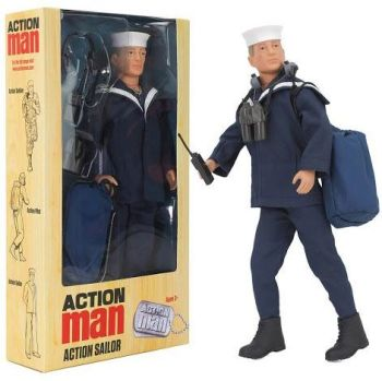 Action Man Sailor With Accessories