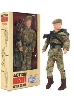 Action Man Soldier With Accessories