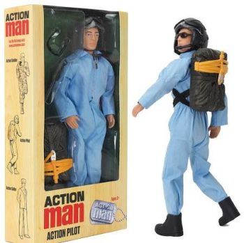 Action Man Pilot With Accessories