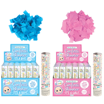 Gender Reveal Confetti Shooters