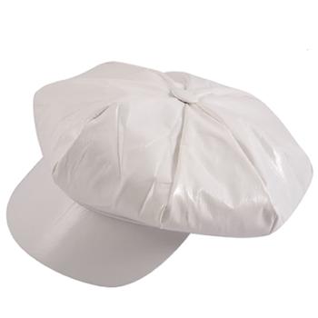 70's White Disco Hat