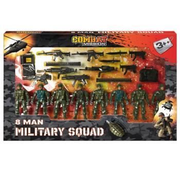 8 Man Millitary Squad