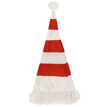 Adult Red/White Wired Hat