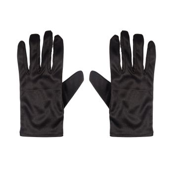 Adult's Black Gloves
