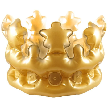 Adults gold crown