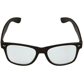 Black Framed Austin Glasses With Clear Lenses