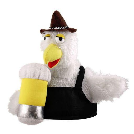 Bird with Beer