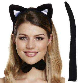 Black Cat Dress-Up Set