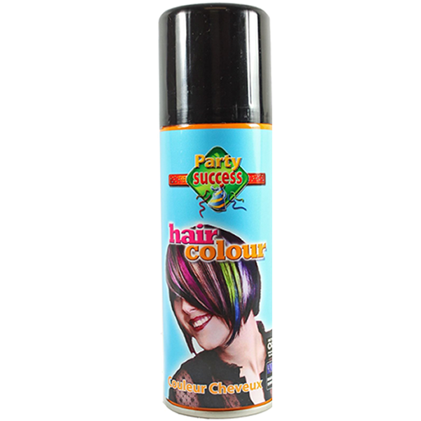 Black Coloured Hairspray