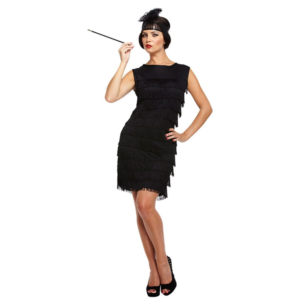 Black Flapper Lady