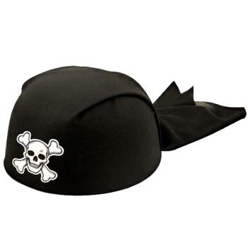 Black Pirate Bandana