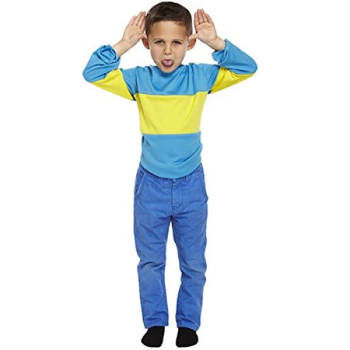 Blue And Yellow Striped Jumper
