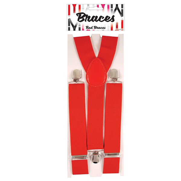 Braces - Red