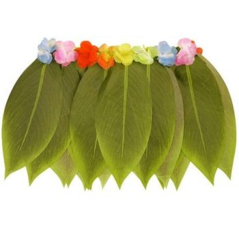 Hula Leaf Skirt