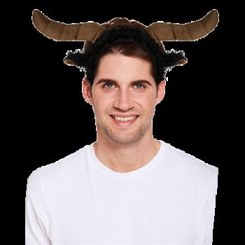 Bull Headband