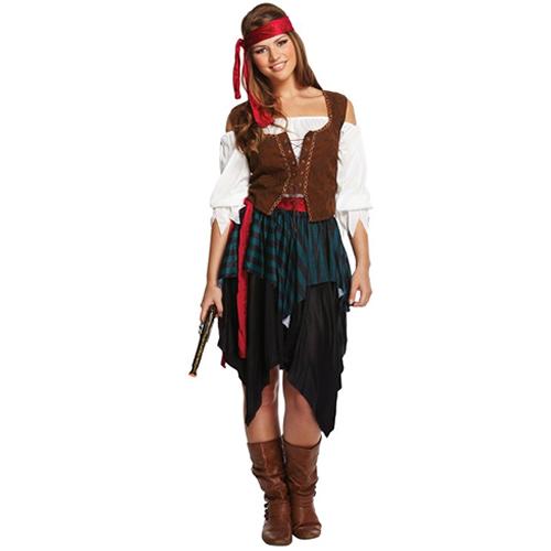 Caribbean Pirate Lady