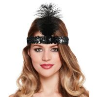 Charleston Headband - Black