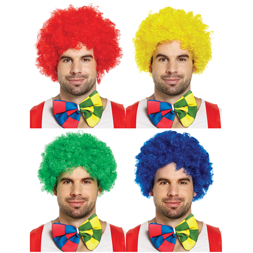 Clown Afro - Assorted Colours