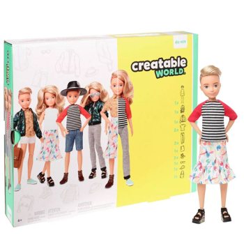Creatable World Deluxe Character Kit (DC-414)