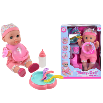 Drink & Wet Baby Doll Playset