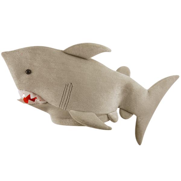 Grey Shark Hat