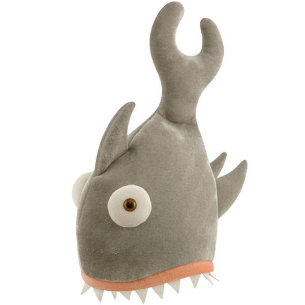 Shark Bite Hat