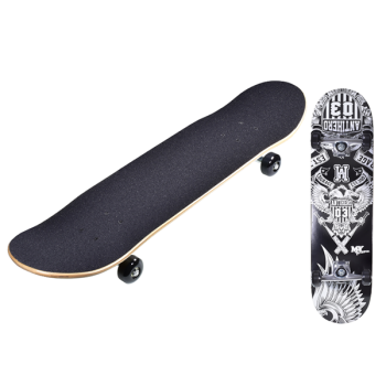 Double Tilt End Skateboard Antihero Design