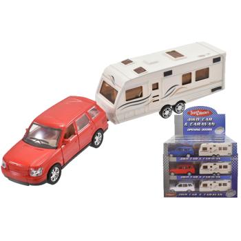 Car And Caravan Set