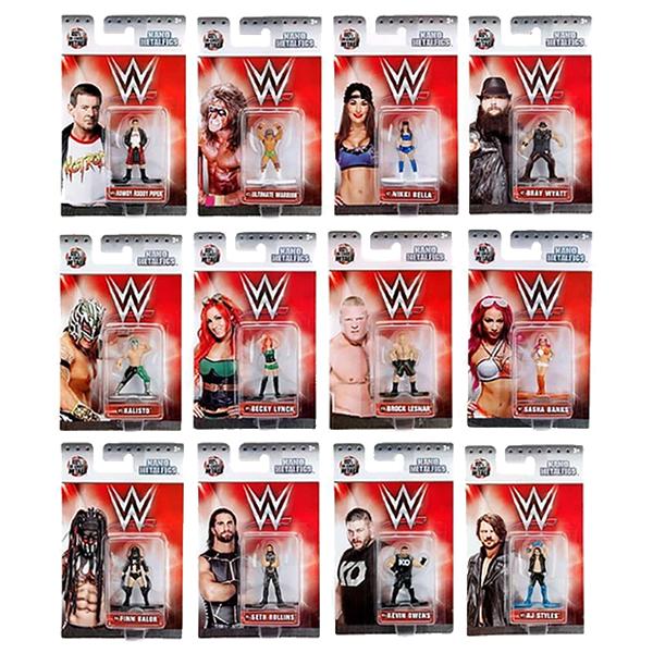 Nano Metalfigs WWE Singles