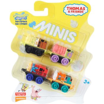 Thomas & Friends Mini's 4 Pack - Spongebob Squarepants