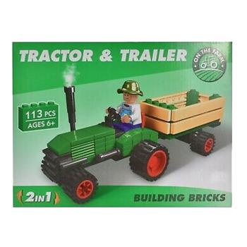 Farm Tractor & Trailer