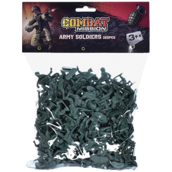 160 Green Toy Soldiers
