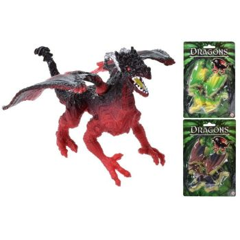 Dragon With Clip On Wings