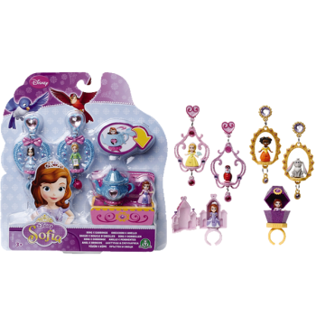 Princess Sofia Ring And Earrings